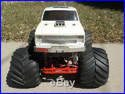 1987 Original Tamiya Clodbuster 4x4x4 Chevrolet Truck ARTR withFutaba AM 58065