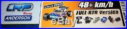 1/18 LRP Shark18 Nitro Race Monster Truck RTR 4WD LCD Sender + Futaba Servos NEU