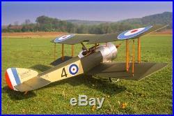 1/3 scale Sopwith Pup Biplane, G62 engine all radio gear and Futaba transmitter
