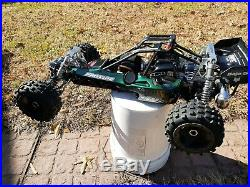 1/5 Scale Gas Buggy Zenoah, Savox, Hpi, Futaba! Crazy Fast