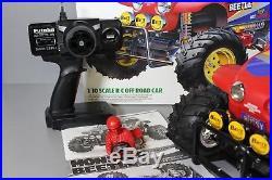 2015 Tamiya 1/10 RC Monster Beetle Truck 2WD #58618 Re-release ESC Futaba Servo
