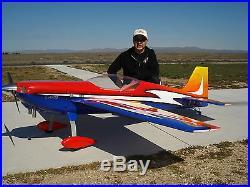 33% Krill Katana Desert Aircraft DA100 SAVOX Futaba RX Model Airplane Engine RC