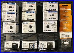 3 Of Each NIB Futaba S3107, S3111, S3111M, S3114 & (5) M-Series Servo Connectors