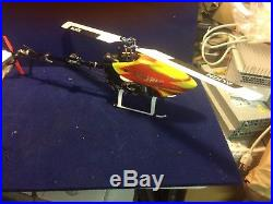 Align T-rex 450 Flybar Helicopter with FUTABA T10CHG Fasst RC Heli Air Transmitter