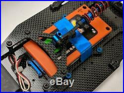 Associated Rc10r5.2 plus a revtech Battery And Futaba 9650 Servo WGT-R Pan Car