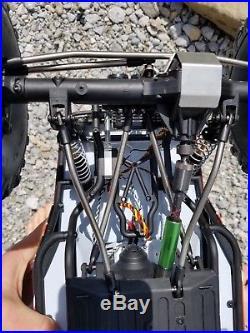 Axial Wraith RC4WD Crawler Vanquish Traxxas Castle, Futaba Hi-tech Onyx 245