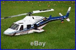 Bell 222 RTF (600) T Rex 550X Futaba T14SG + Autopilot Axon Ready to Fly Scale