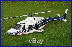 Bell 222 RTF Align T-Rex 600 DFC + DJI GPS Autopilot, Futaba T14SG, Soundmodul