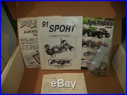 Bolink 91 Sport Pan Car 110 Scale Chassis Futaba Servo Lunsford w Box Manual
