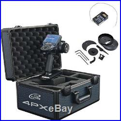 COMBO Futaba 4PX 4CH Radio / Transmitter w R304SB Receiver + Metal Case FUTK4905