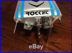 Custom, Brushless, Rc Boat, Fiberglass Hull, Aluminum Hardware, Tfl Rocket, Futaba