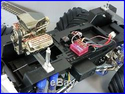 Custom Built Tamiya 1/10 Super Clodbuster Chrome Body Part Futaba ESC Transmiter