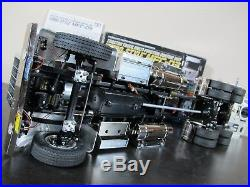 Custom Built Tamiya 1/14 RC King Hauler Chrome Edition Futaba MFC-03 Sound LED