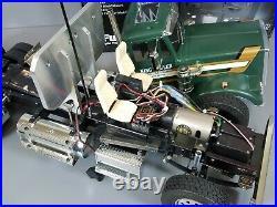 Custom Built Tamiya 1/14 R/C King Hauler DayCab withESC Servo Futaba + Accessories