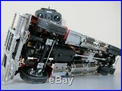 Custom Built Tamiya 1/14 R/C King Hauler Futaba MFC-03 4.75 Frame Extend & More