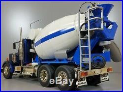 Custom Convert Tamiya 1/14 RC King Hauler Semi Granite Cement Mixer Truck Futaba