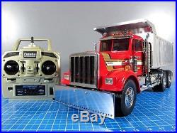 Custom Convert Tamiya 1/14 R/C King Hauler Dump Tipper Truck Futaba 2.4Ghz ESC