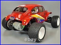 Custom Tamiya 1/10 R/C Blitzer with Monster Beetle Body Futaba 2.4GHZ ESC Servo