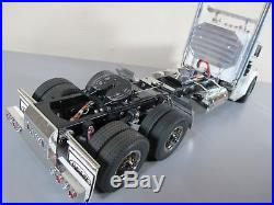 Custom Tamiya 1/14 RC King Hauler Day Cab+MFC-03+ Futaba+Aluminum Upgrade part