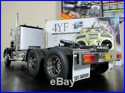 Custom Tamiya 1/14 R/C King Hauler Day Cab+ MFC-01+ Futaba 2.4g+ Upgrade Parts