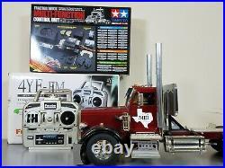 Custom Tamiya 1/14 R/C King Hauler Day Cab+ MFC-01+ Futaba + Aluminum Upgrade