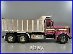 Custom Tamiya 1/14 R/C King Hauler convert Dump Truck Futaba ESC Servo Spektrum