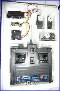 Digital Proportianal R/C system FUTUBA FP-3GSC 3 channel 2 servos NEW 27.045 Mhz
