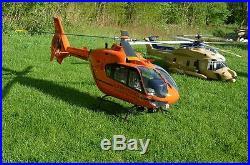 Eurcopter EC-135 Christoph 12 Rettungshubschrauber RTF + Vario Mechanik Futaba