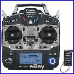 FUTABA 10JA 10J 10CH 2.4GHZ FHSS RADIO SYSTEM TX RX With R3008SB S BUS FUTK9200