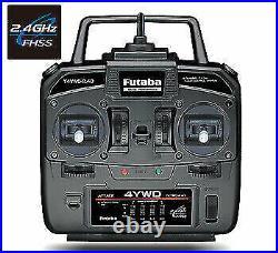 FUTABA 4YWD 2.4G Radio Set includes R214GFE Receiver FUT4YWDR214GFE
