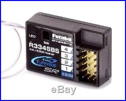 FUTABA 7PX 2.4GHz T-FHSS Super Response 7 Channel with R334SBS x 2 NEW IN BOX