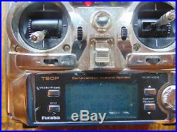 FUTABA 9CAP 9 CHANNEL TRANSMITTER C/W FULLY SYNTHESIZED RF MODULE MODE 2 35 MHz