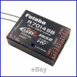 FUTABA R7014SB 2.4GHZ FASSTest S BUS2 HV 4 CHANNEL FULL RANGE AIRCRAFT RECEIVER