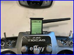 FUTABA T10CAP TX, Module, LIPO Battery, CAMPac, Manual, Excellent