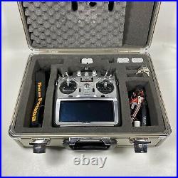 FUTABA T14MZAP Control Transmitter Case TM-14 FASST RF Module LT2F2200 Batteries