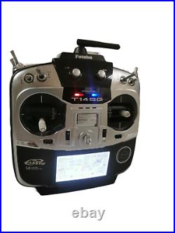 FUTABA T14SG RC transmitter with battery