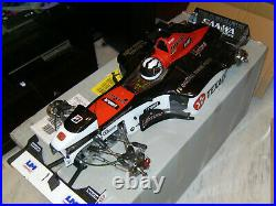 Fg competition Formula 1, hydro brakes, futaba servos, 26cc race ported engine