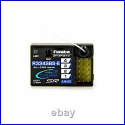 Futaba 01004396-3 7PXR 7-Channel 2.4GHz T-FHSS Radio System with R334SBSE Receiver