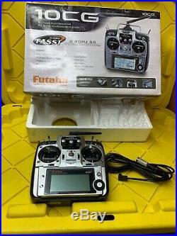 Futaba 10CG T10CAG 2.4GHz 10 Channel Digital Proportional Airplane R/C System