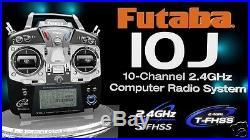 Futaba 10JH 10J 10CH 2.4GHz T-FHSS/S-FHSS Heli Radio System TX WithR3008SB SBus RX