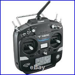 Futaba 12K A 14Ch T-FHSS/S-FHSS Radio Airplane Transmitter / R3008SB Receiver