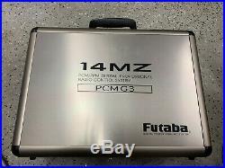 Futaba 14MZ Radio with 3 14ch RX and 1 6 ch RX