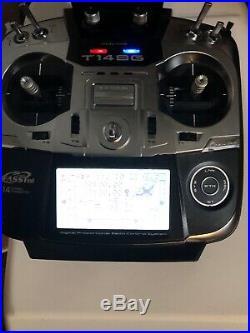 Futaba 14SG Airplane Radio MD2 Mode 2 FASST 2.4ghz RC Transmitter