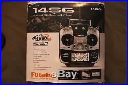 Futaba 14SG HeliCopter Radio Mode 2 FASSTest 2.4ghz RC Transmitter