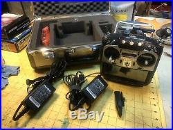 Futaba 18MZ Transmitter and case