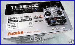 Futaba 18SZ H 2.4Ghz 18ch Transmitter & R7008SB HV S. Bus Receiver Mode 1 & 2