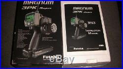 Futaba 3PK Super TX, Futaba PK-FSM FSS, Two Futaba R303 FHS