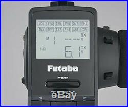 Futaba 3PV 2.4GHz 3-Channel T/S/FHSS Radio System withR203GF 3ch S-FHSS Receiver