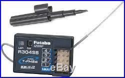 Futaba 3PV 3-Channel 2.4GHz FHSS/S-FHSS Radio System FUTK3200 withR304SB Receiver