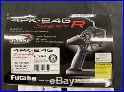 Futaba 4PKS FASST 2.4Ghz 4-Channel Radio with R614FS Receiver